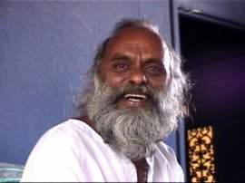 The Father of Para-Tan, Master of the Living Goddess Tradition and founder of the Mahavidya Temple in Tamil Nadu India